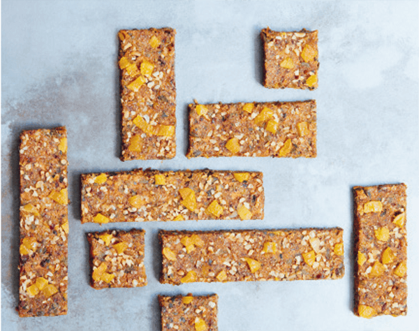 SPICED FRUIT BARS
